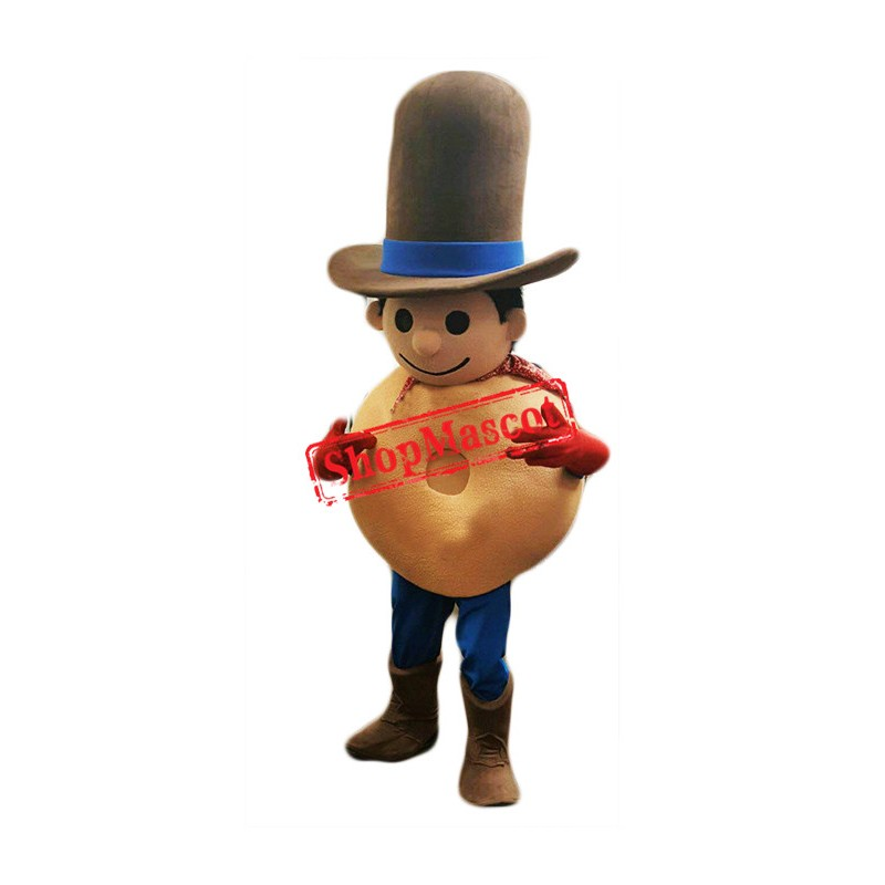 Bagel Boy Mascot Costume