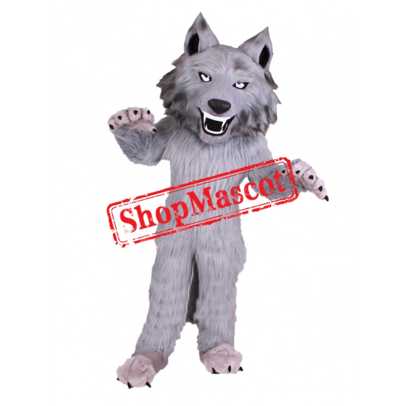 Top Quality Fierce Wolf Mascot Costume