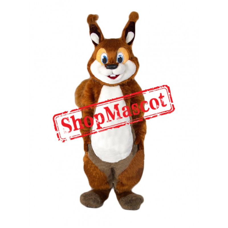Super Cute Squirrel Mascot Costume Free Shipping