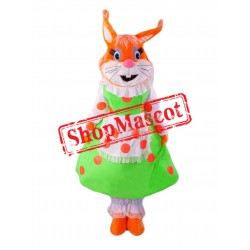Super Cute Female Squirrel Mascot Costume