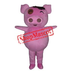 Cheap Cute Pig Mascot Costume