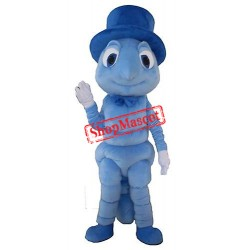 Blue Cricket Mascot Costume