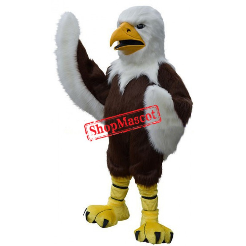Fierce Lightweight Adult Eagle Mascot Costume