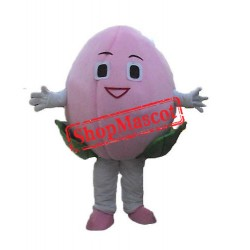 Cheap Peach Mascot Costume