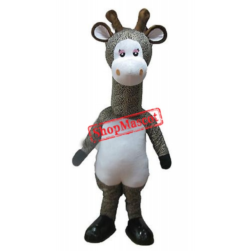 Beautiful Giraffe Mascot Costume