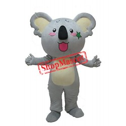 Super Cute Gray Koala Mascot Costume