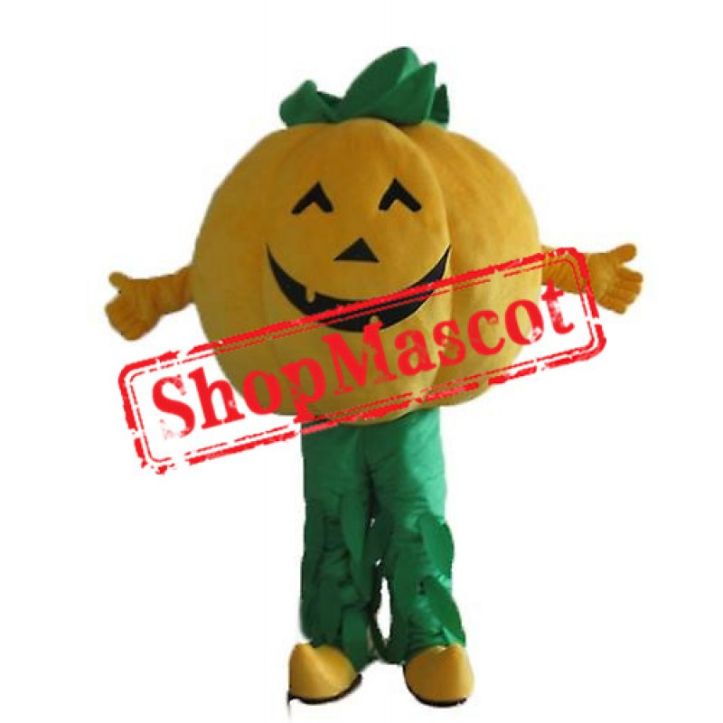 Happy Lightweight Pumpkin Mascot Costume