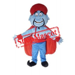 Cartoon Genie Mascot Costume