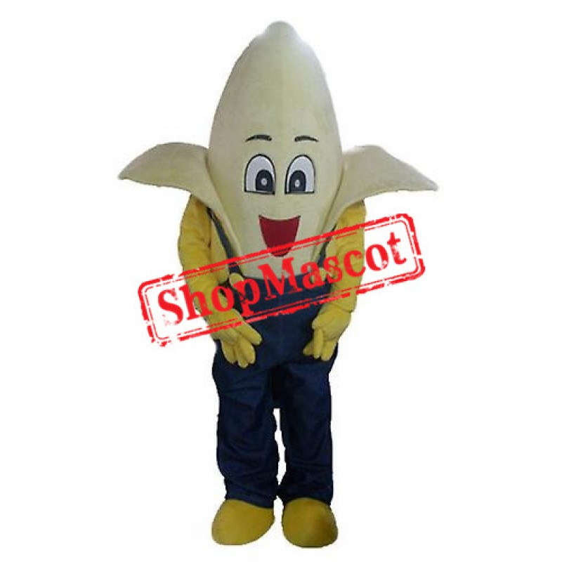 Banana Boy Mascot Costume