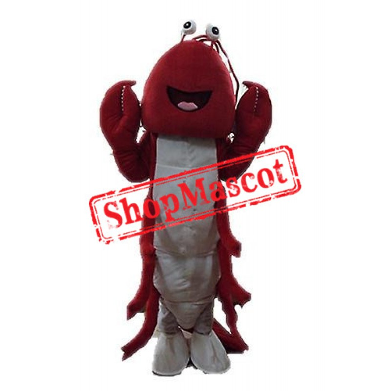 Red Lightweight Lobster Mascot Costume Free Shipping