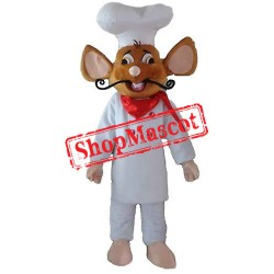 Chef Mouse Mascot Costume