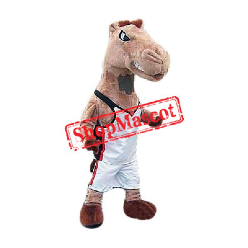 Power Sport Lightweight Horse Mascot Costume
