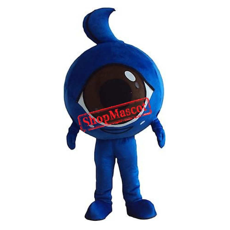 Blue Eye Mascot Costume