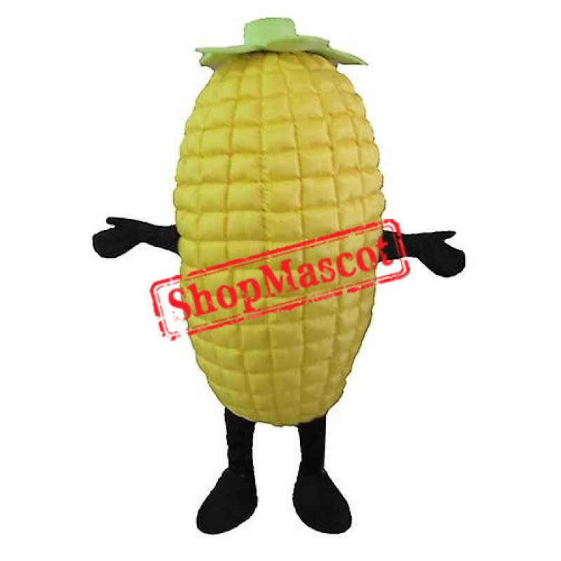 High Quality Yellow Corncob Mascot Costume