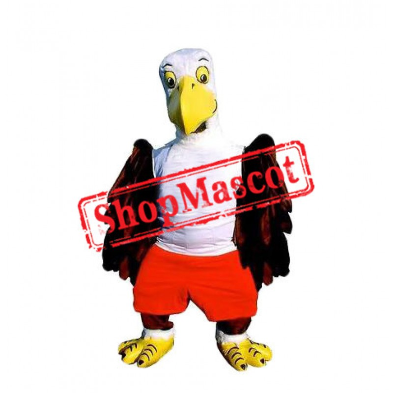 Kindly Lightweight Eagle Mascot Costume