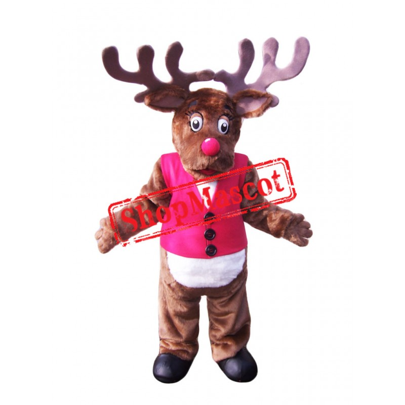 Best Quality Reindeer Mascot Costume