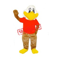 Super Cute Lightweight White Eagle Mascot Costume