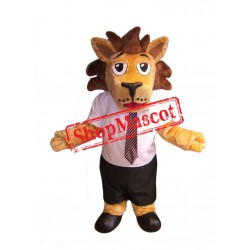 High Quality School Lion Mascot Costume