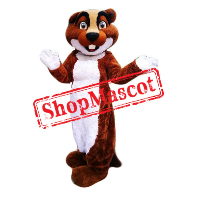 Super Cute Lightweight Beaver Mascot Costume