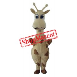 Cheap Lightweight Giraffe Mascot Costume