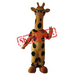 Lovely Giraffe Mascot Costume