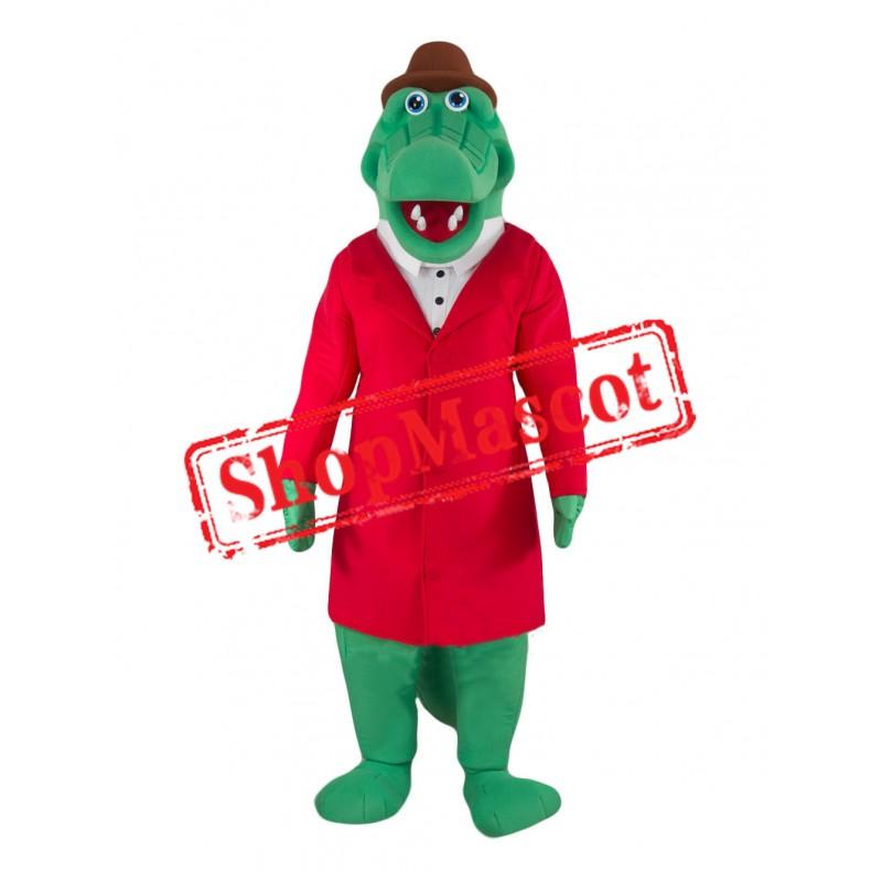 Super Cute Lightweight Crocodile Mascot Costume