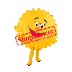 Happy Sun Mascot Costume Free Shipping