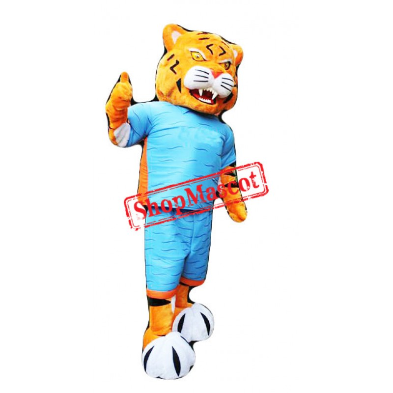 Fierce Sport Tiger Mascot Costume