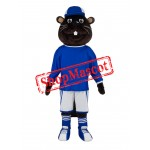 Top Quality Sport Beaver Mascot Costume Free Shipping