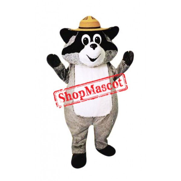 Super Cute Adult Raccoon Mascot Costume