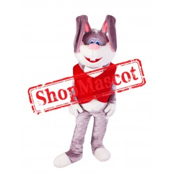 Friendly Adult Rabbit Mascot Costume