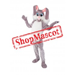 Lovely Adult Rabbit Mascot Costume