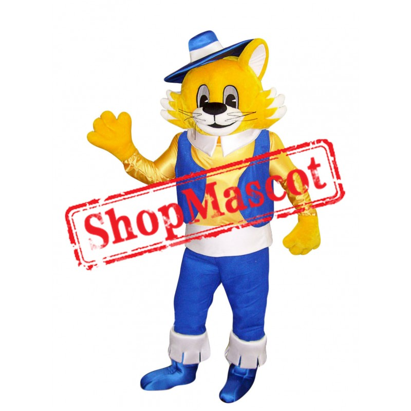 High School Lightweight Cat Mascot Costume