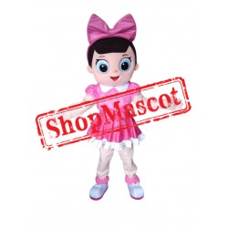 Fancy Doll Mascot Costume