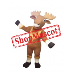 Elk Animal Mascot Costume