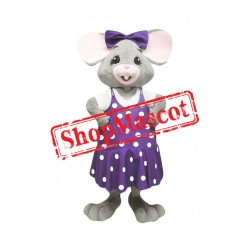Super Beautiful Mouse Mascot Costume