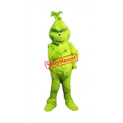 High Quality Grinch Mascot Costume