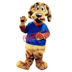 College Brown Dog Mascot Costume