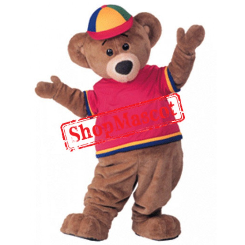 College Lightweight Bear Mascot Costume