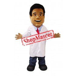 Young Man Doctor Mascot Costume
