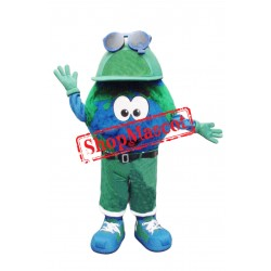 Happy Lightweight Earth Mascot Costume