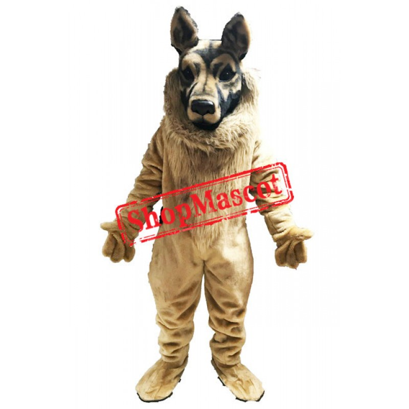 Best Quality German Shepherd Dog Mascot Costume