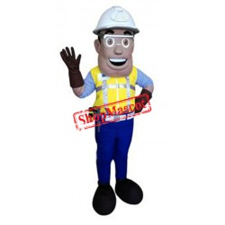 Engineer Mascot Costume