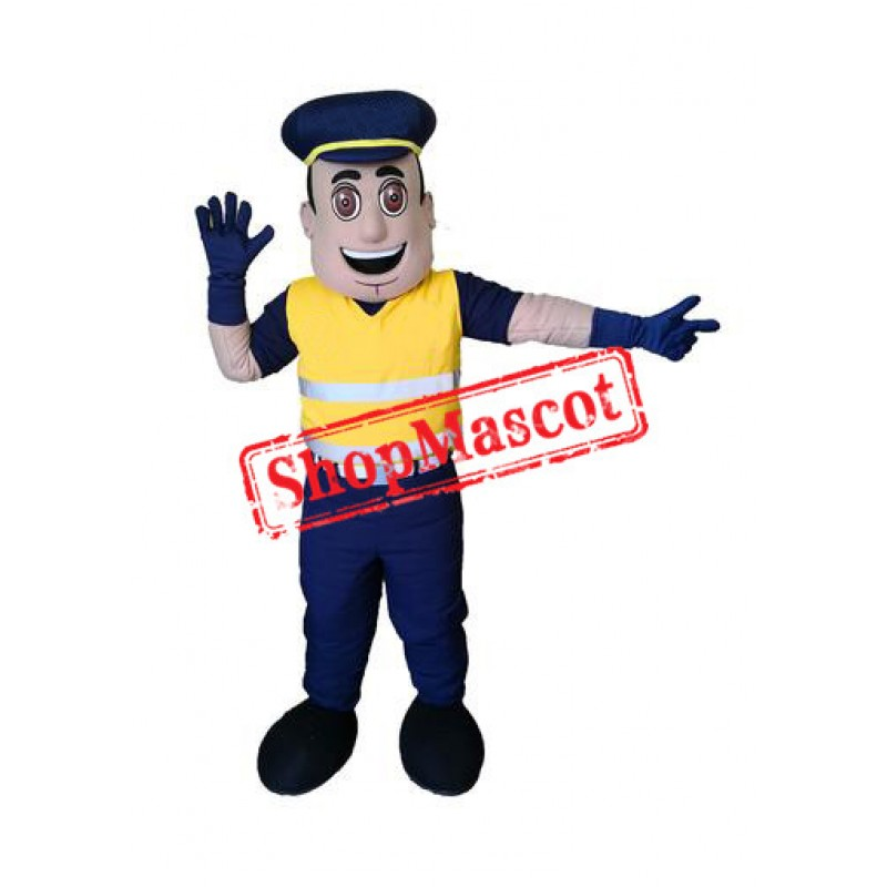Traffic Officer Mascot Costume