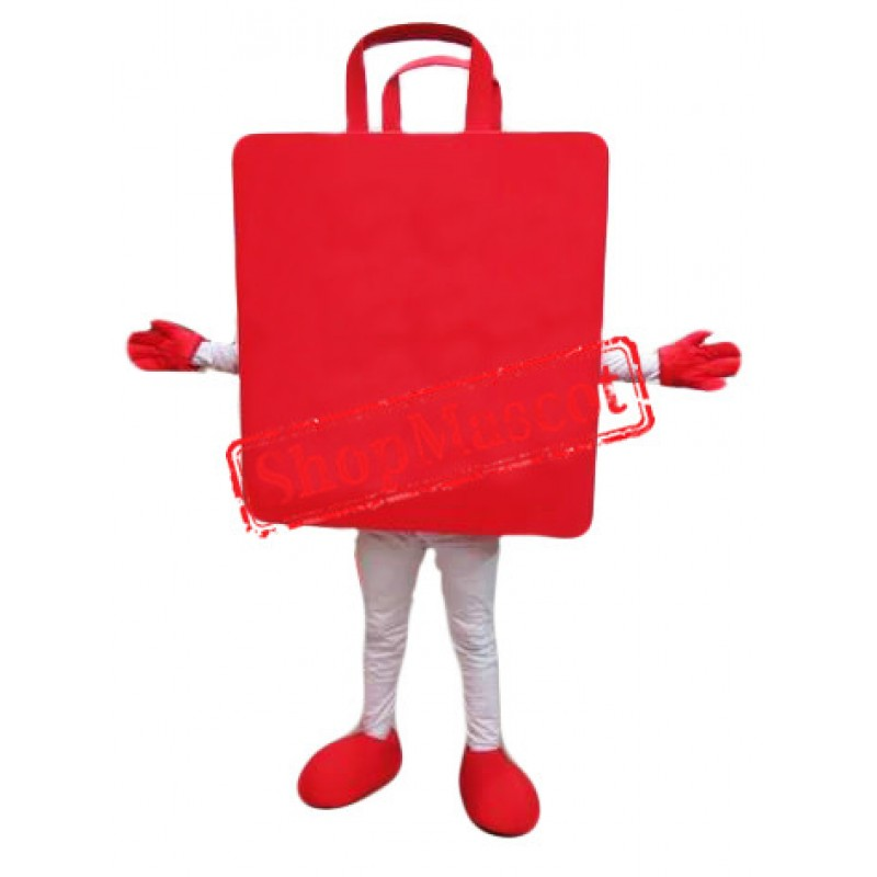 Red Bag Mascot Costume