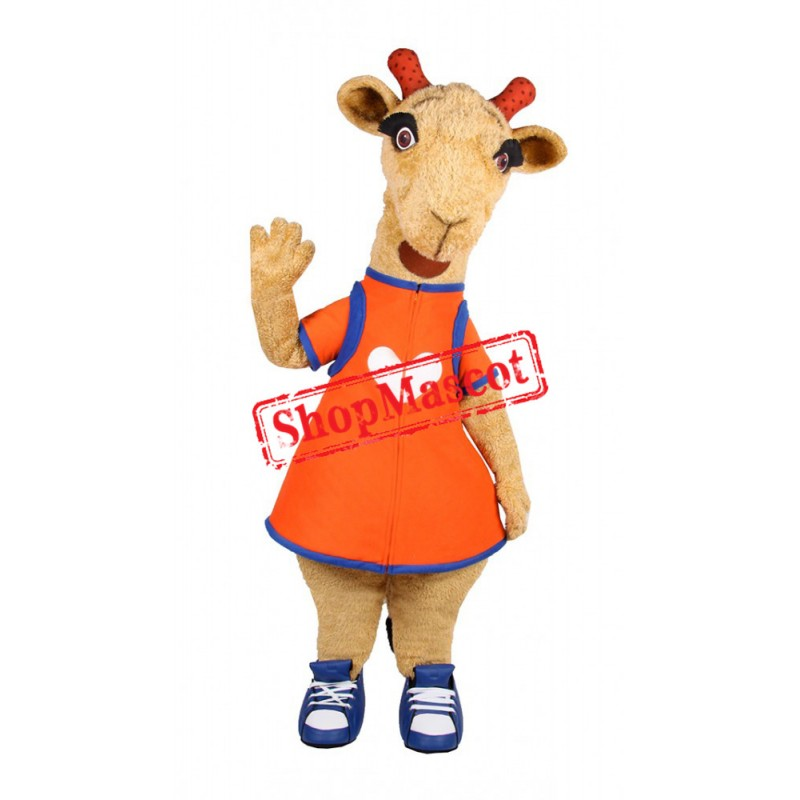 Super Cute Lightweight Giraffe Mascot Costume