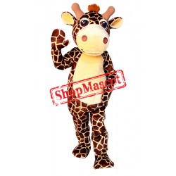 High Quality Friendly Giraffe Mascot Costume