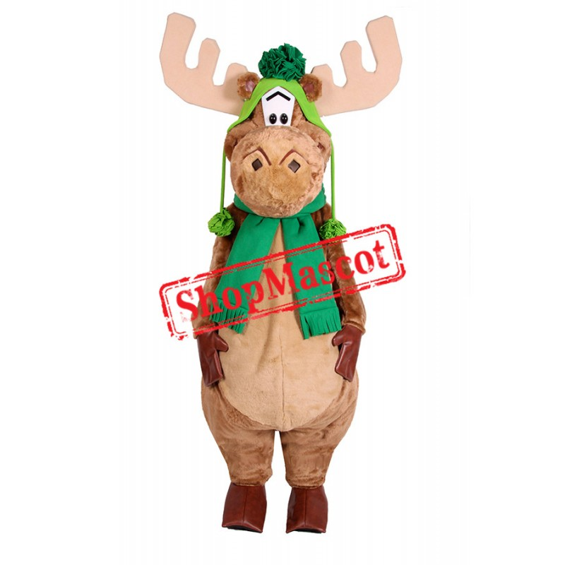 Mini Moose Mascot Costume