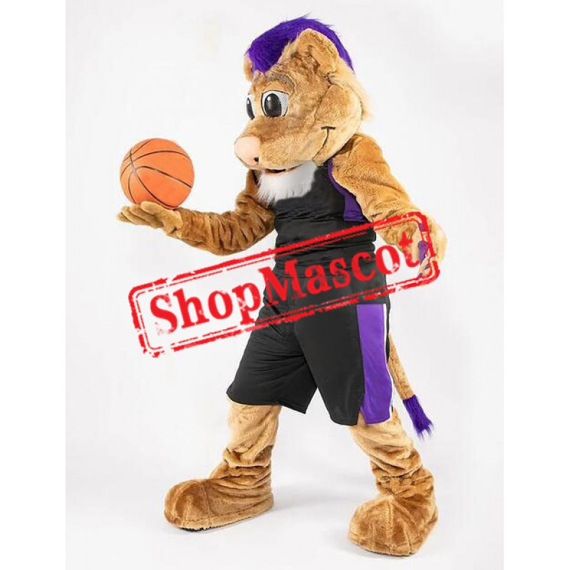Basketball Lightweight Lion Mascot Costume