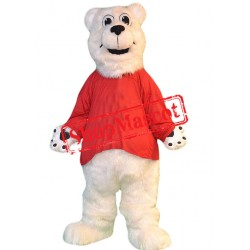 Lovely Lightweight Polar Bear Mascot Costume